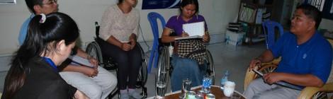 Establishing Spinal Cord Injury Association of Cambodia
