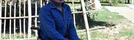 Home visit in Pursat province