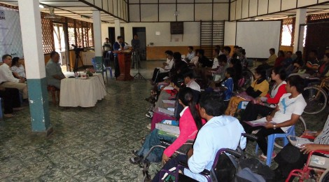 Summary from the seminar in Battambang 25-26 March 2013.