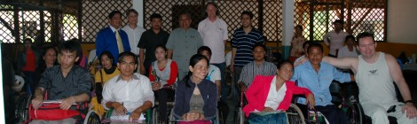 Report on Workshop on Spinal Cord Support and 1st General Assembly