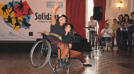 Wheelchair dance