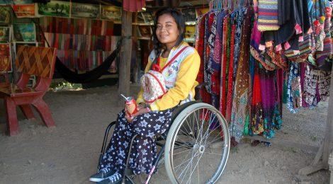 In the community Battambang Province 2016