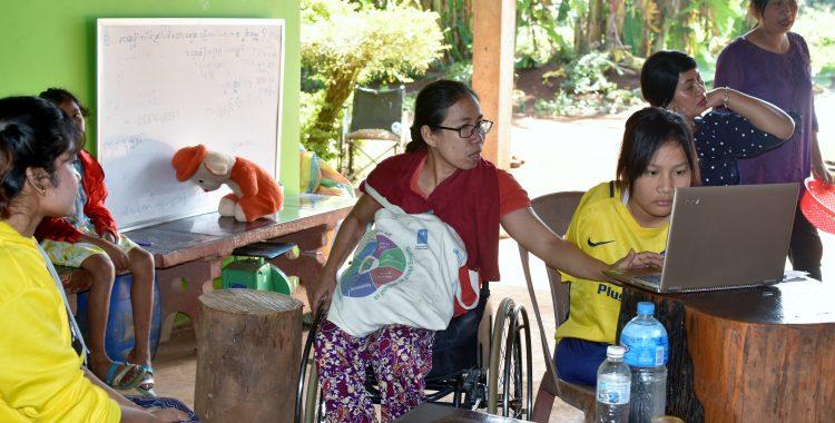 Outreach activities Samlot district Battambang province Cambodia December 2018